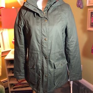 Love Tree Army Green Lined Utility Jacket